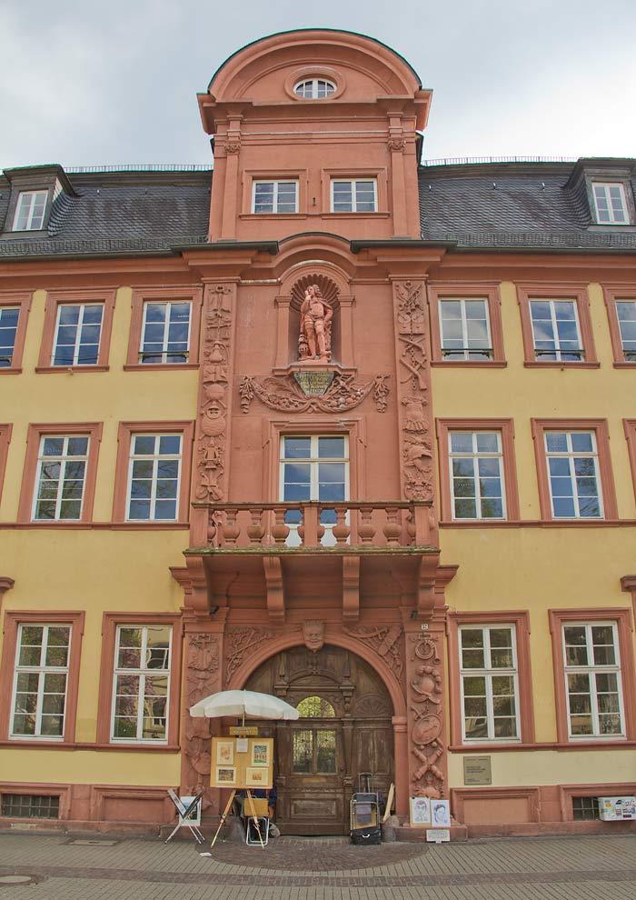 Haus Riese Heidelberg am Bunsenplatz