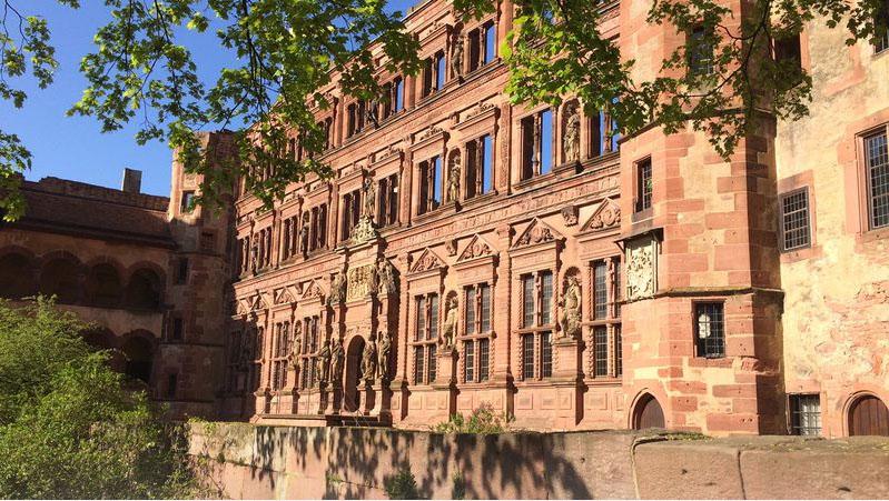 Ottheinrichtsbau Schloss Heidelberg