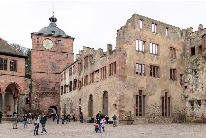Ruprechtsbau Schloss Heidelberg